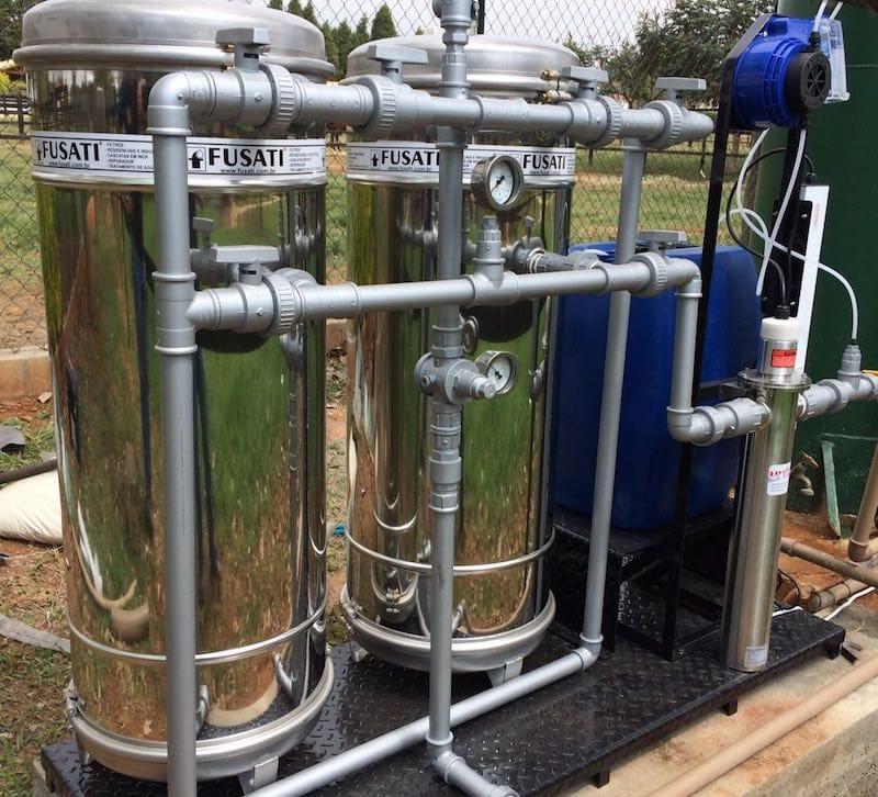 Filtro para Água de Poço Artesiano