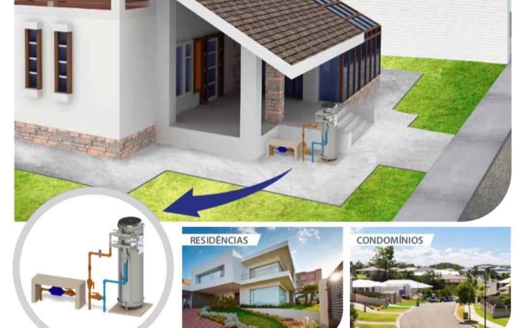 Filtro de Entrada de Água Residencial. Água Pura para toda sua Casa