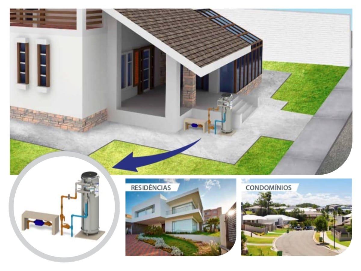 Filtro de Água de Entrada e Central • Tratamento de Água • Casa, Condomínio, Prédio Residencial Comercial • FUSATI Filtro de Água e Tratamento de Efluente