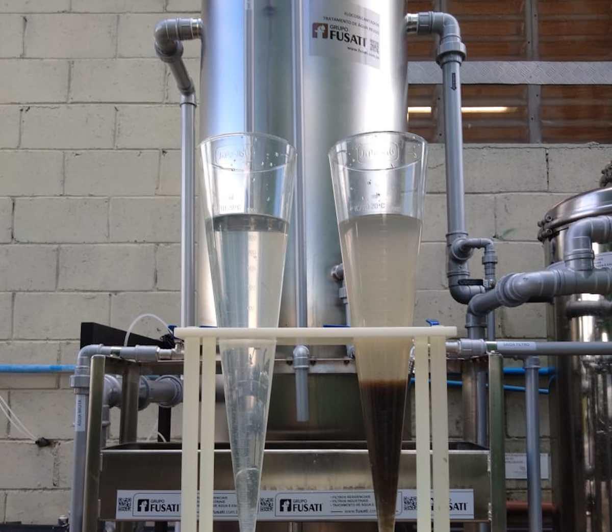 etapas do tratamento de água