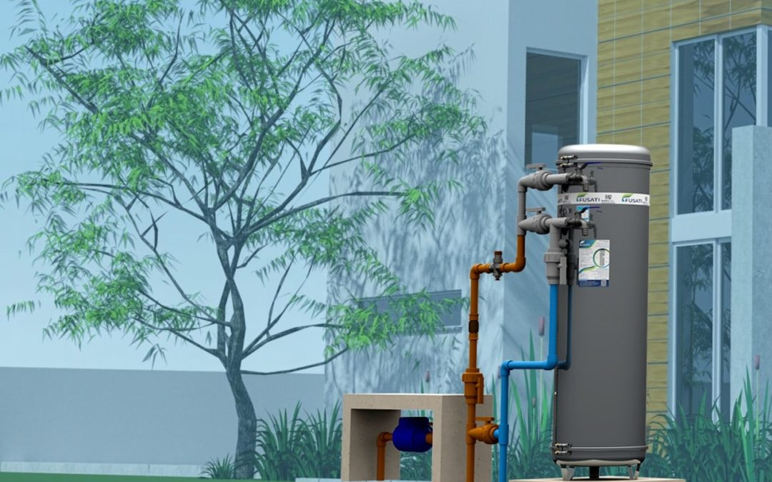 Filtro de Água Residencial Filtro Central e retrolavável
